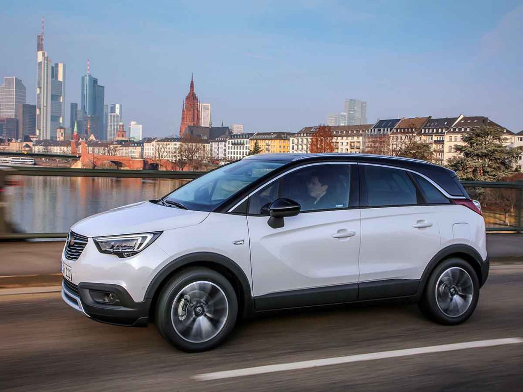 Opel Crossland X private lease vergelijker