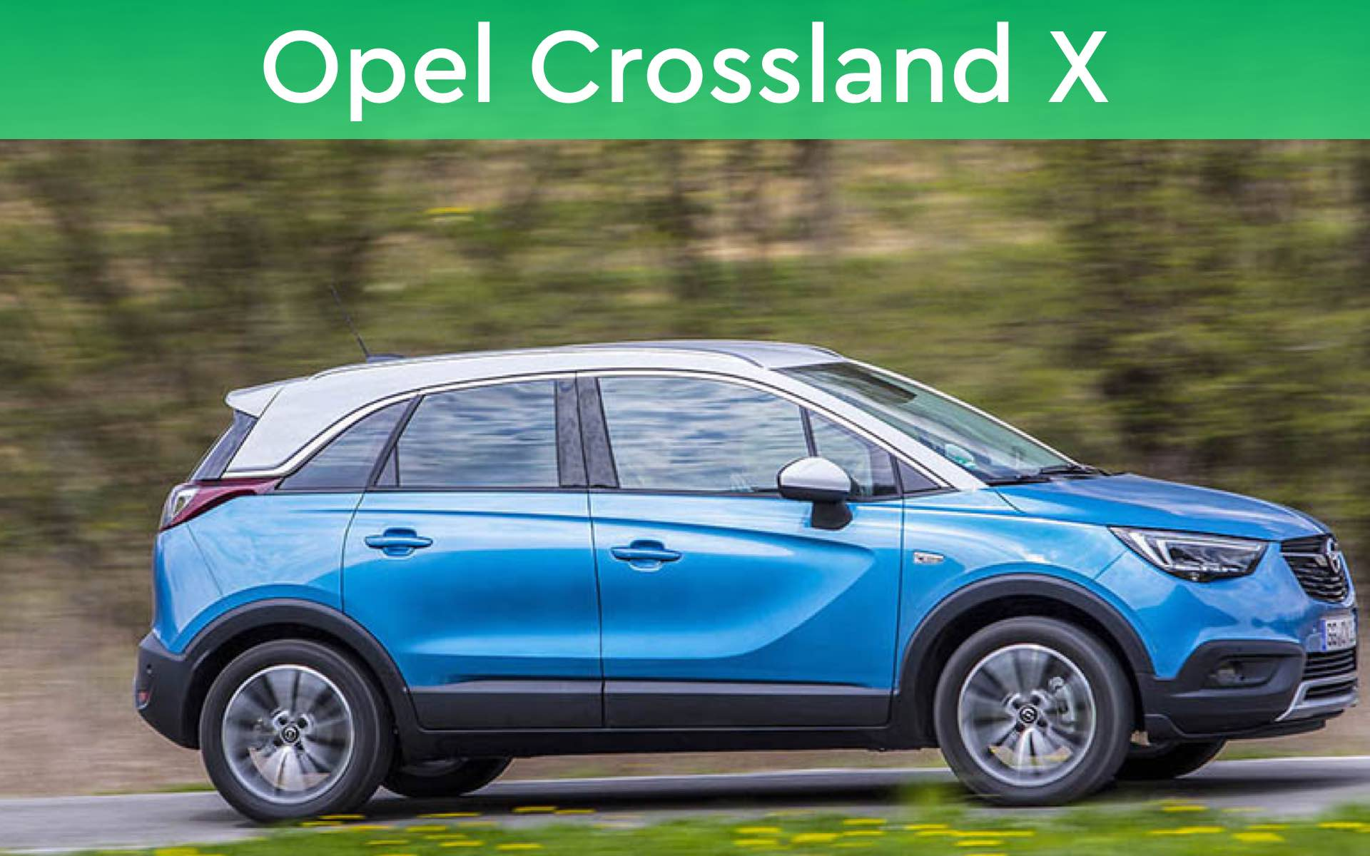 Opel Crossland X private lease