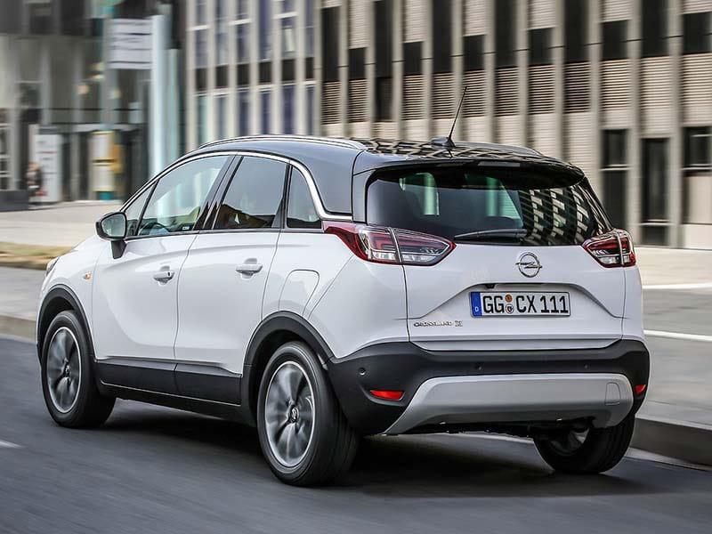 Opel Crossland X test 2020