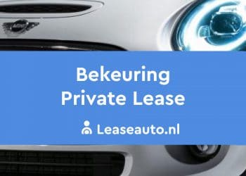 bekeuring private lease