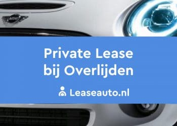 private lease overlijden