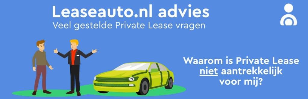 Voor wie is Private Lease niet interessant?