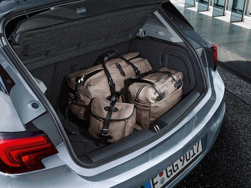 ruime kofferbak astra