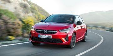Opel Corsa Private Lease rijdend