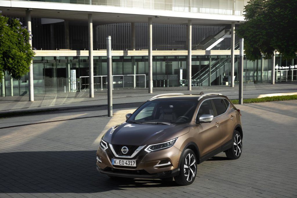 Nissan Qashqai specificaties