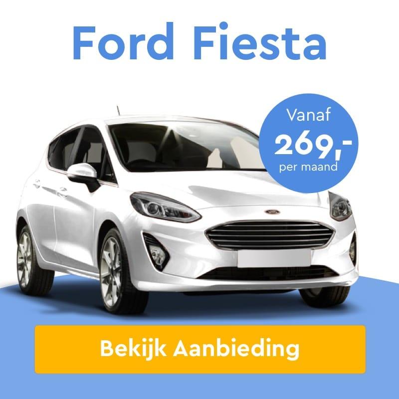 Ford Fiesta Private Lease Aanbieding