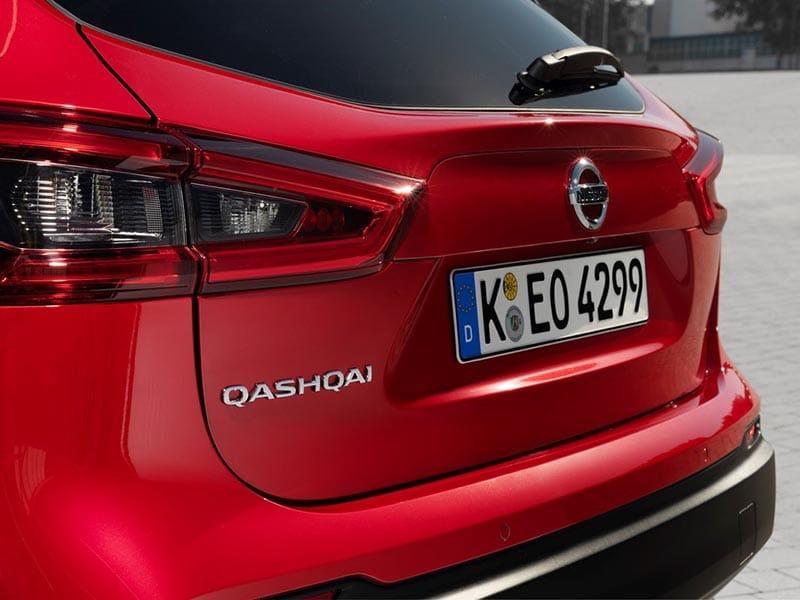 Nissan Qashqai kofferbak