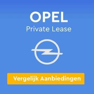 Opel Private Lease Aanbiedingen