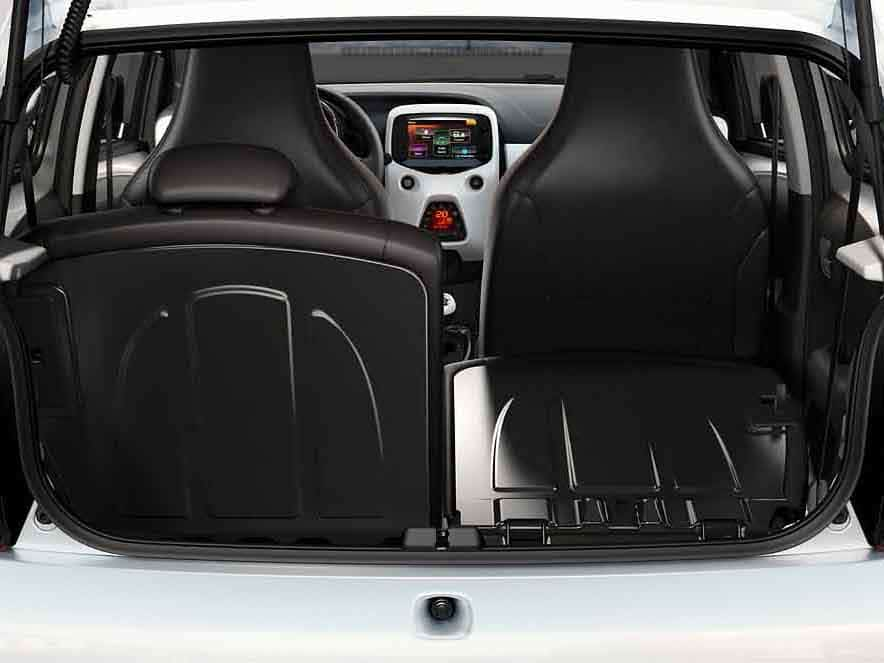 Peugeot 108 bagageruimte