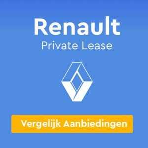 Renault Private Lease Aanbiedingen