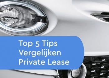 tips-bij-private-lease-vergelijken