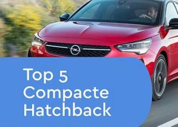 Top 5 Kleine Hatchback Private Lease uitgelicht