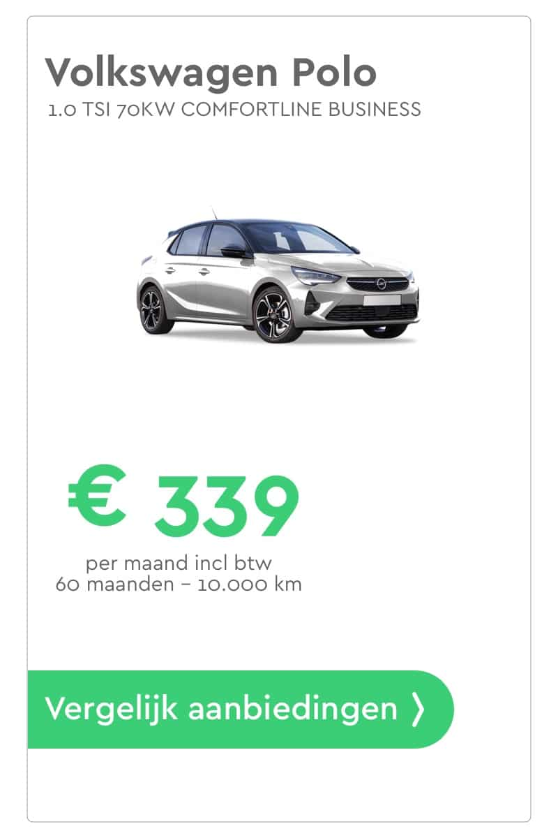 Volkswagen Polo Private Lease aanbieding