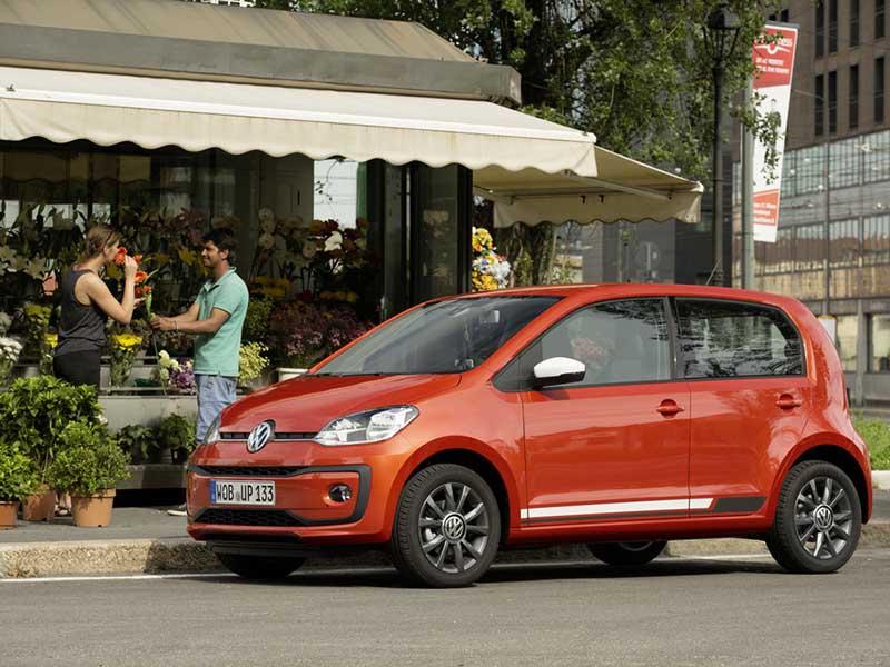Volkswagen up! private lease aanbiedingen
