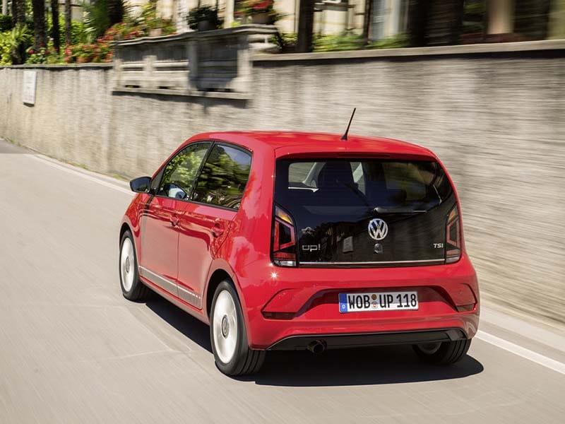 Volkswagen up! private lease goedkoopste