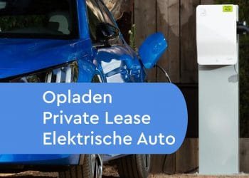 Opladen elektrische private lease auto
