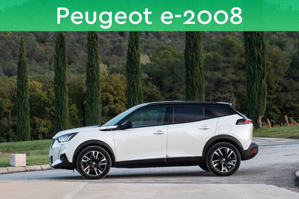Peugeot e-2008 private lease