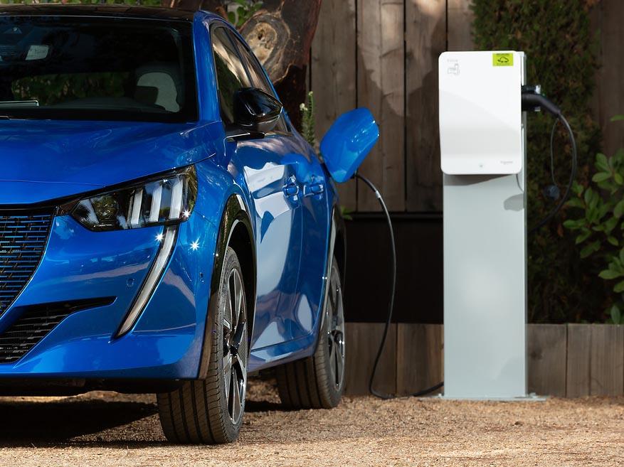 Peugeot e-208 private lease Peugeot 208-e elektric- ease | elektrische