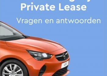 Verzekering bij private lease. Veel gestelde vragen en antwoorden over de verzekering van prive leaseauto's.