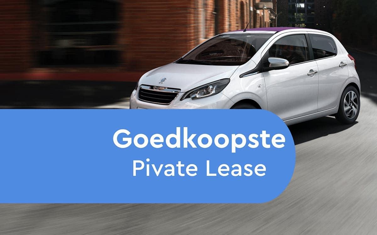 Goedkoopste Private Lease