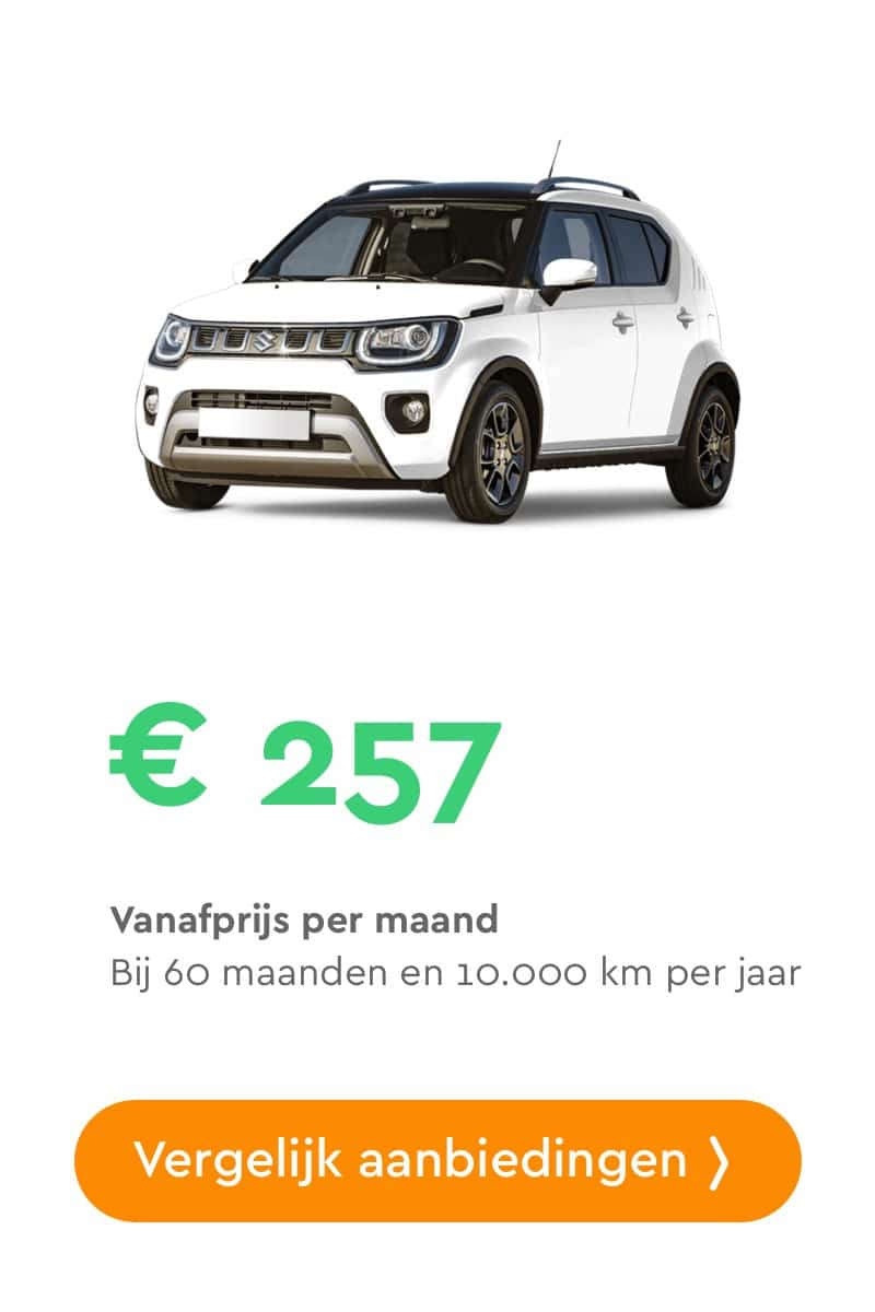 Suzuki Ignis private lease aanbiedingen