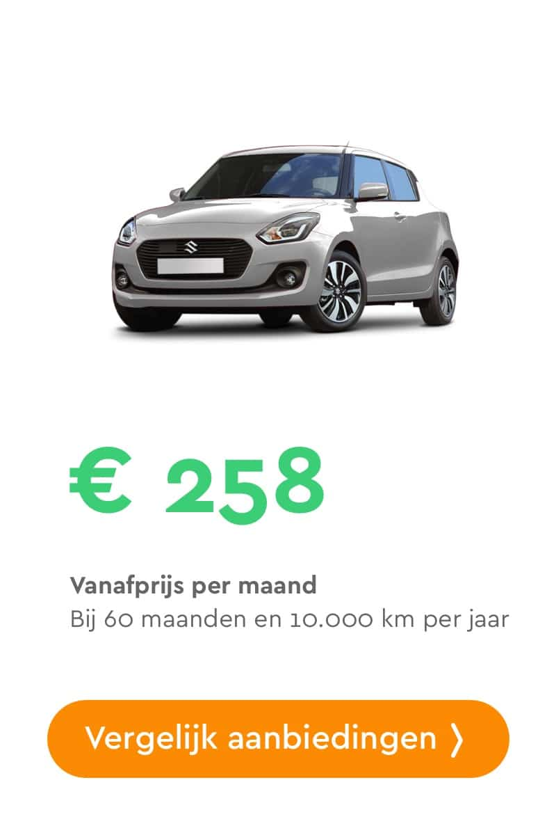 Suzuki swift private lease aanbiedingen