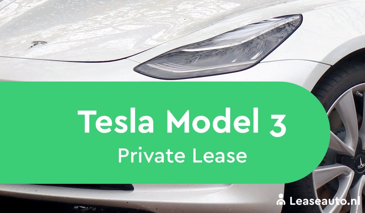 Tesla Mode 3 private lease
