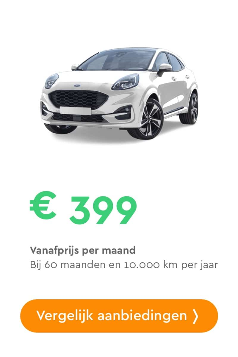 ford puma private lease aanbieding
