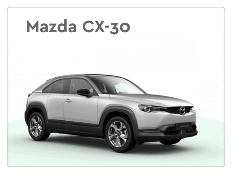 mazda cx 30 private lease