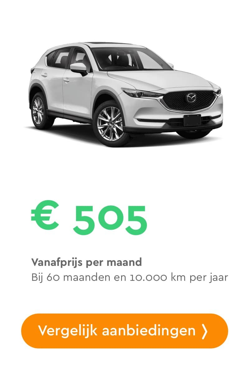 mazda cx5 private lease