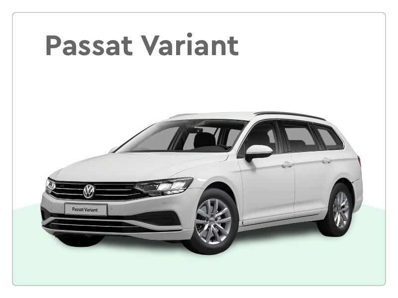 volkswagen passat variant private lease