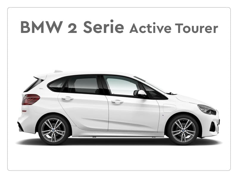 BMW 2 serie active tourer private lease