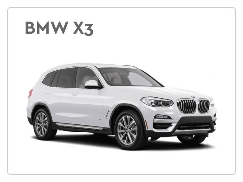 BMW X3 serie private lease