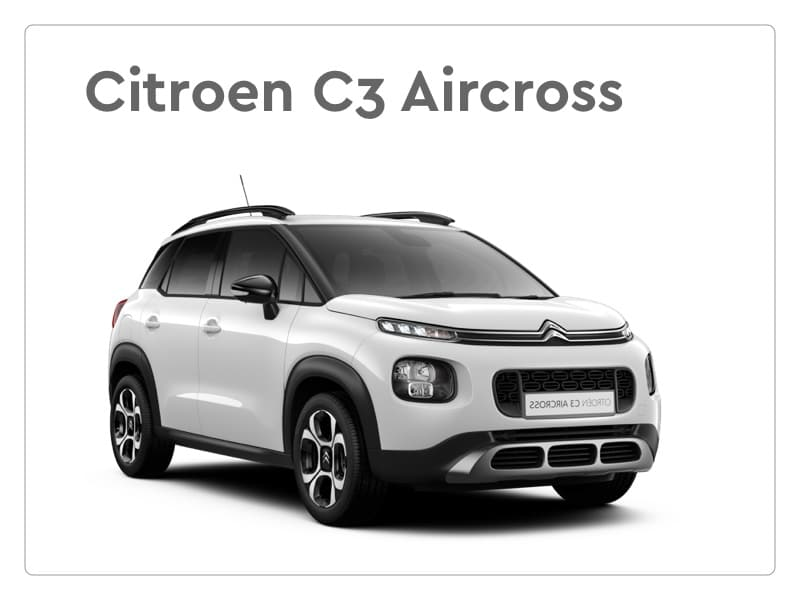 Citroen C3 Aircross private lease