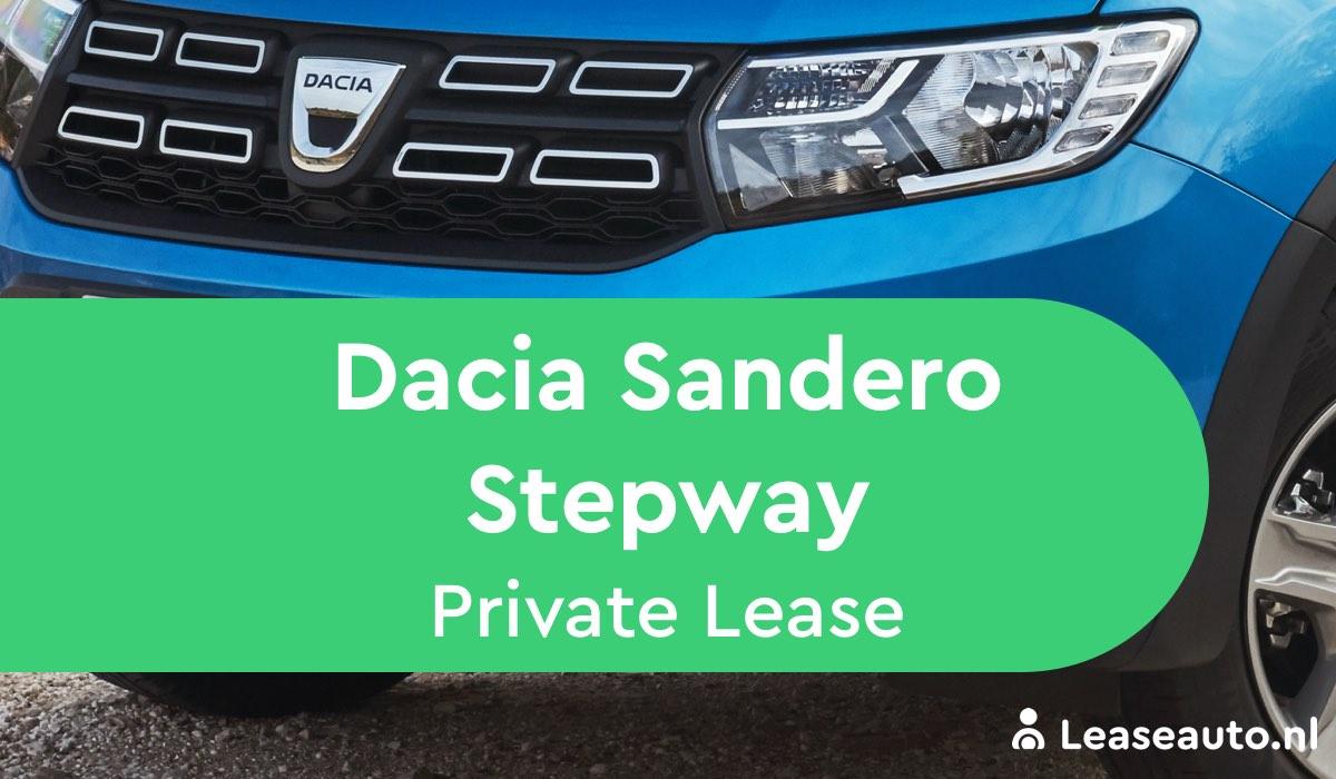 Dacia Sandero Stepway private lease