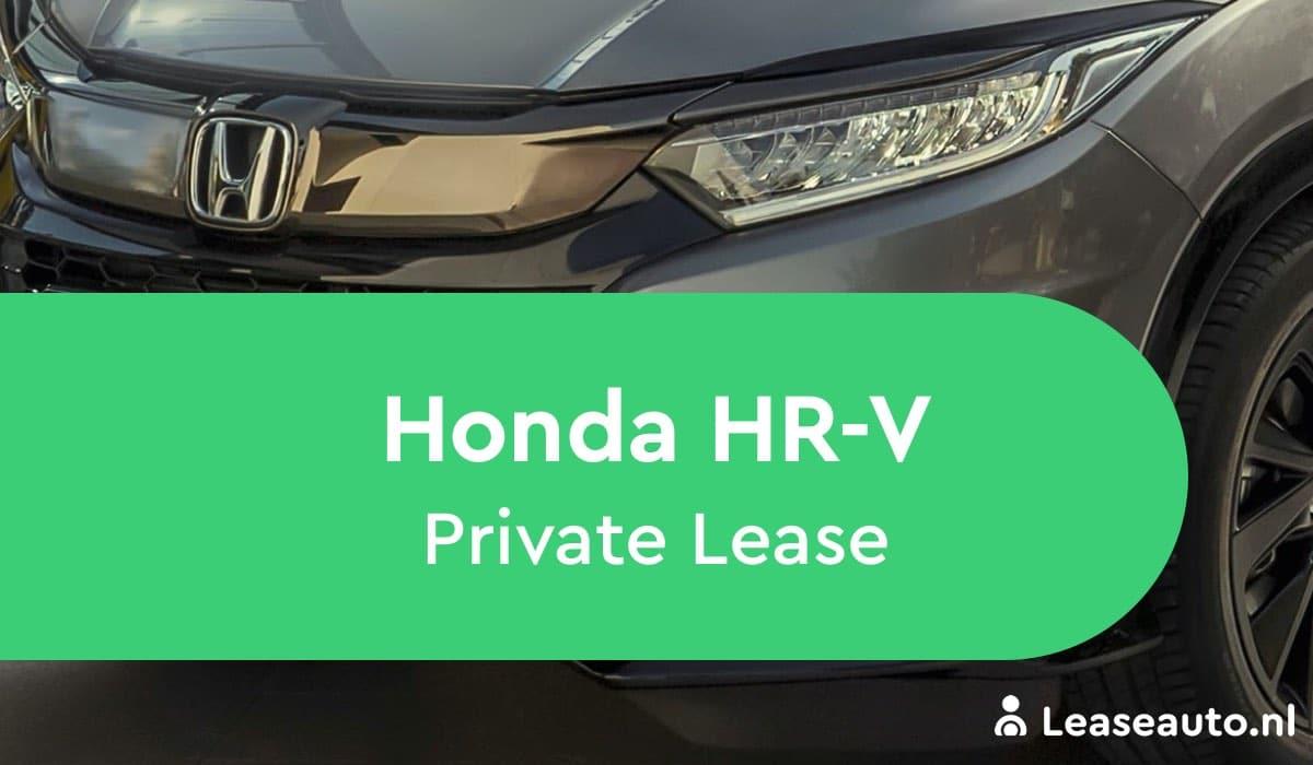Honda HR-V private lease