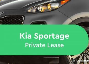 Kia Sportage Private Lease