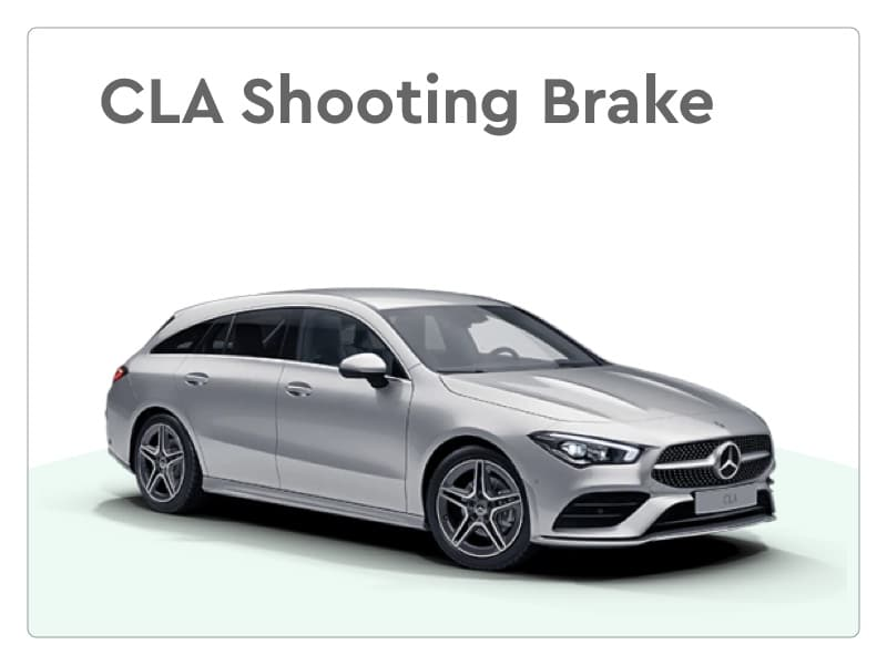 Mercedes-Benz CLA Shooting Brake private lease