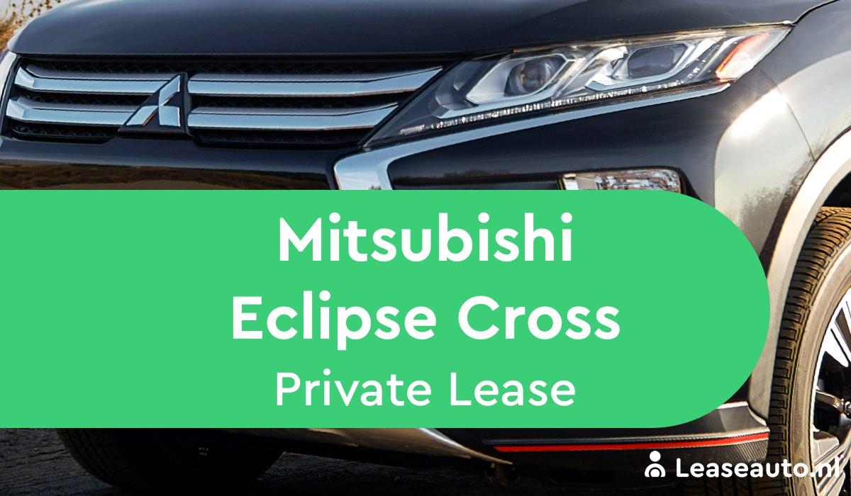 Mitsubishi Eclipse Cross Private Lease