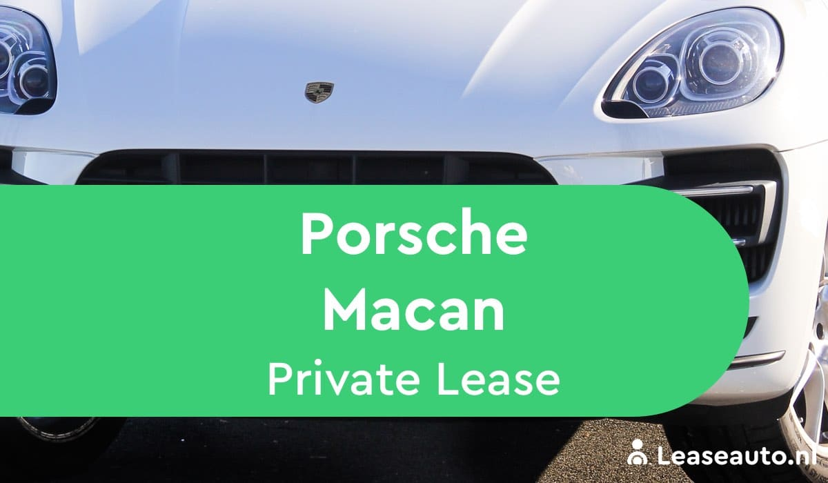 Porsche Macan Private Lease