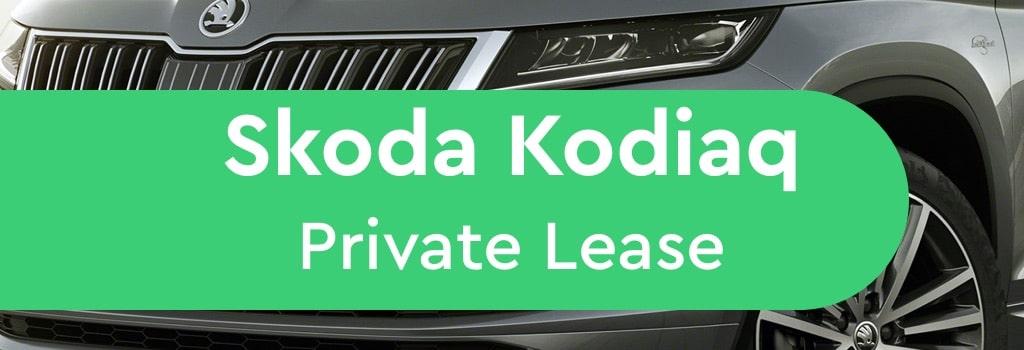 Skoda Kodiaq Private Lease