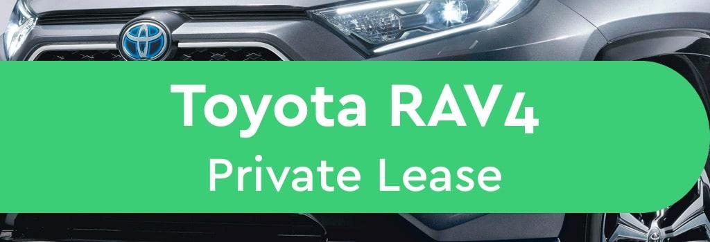 Toyota RAV4 Private Lease