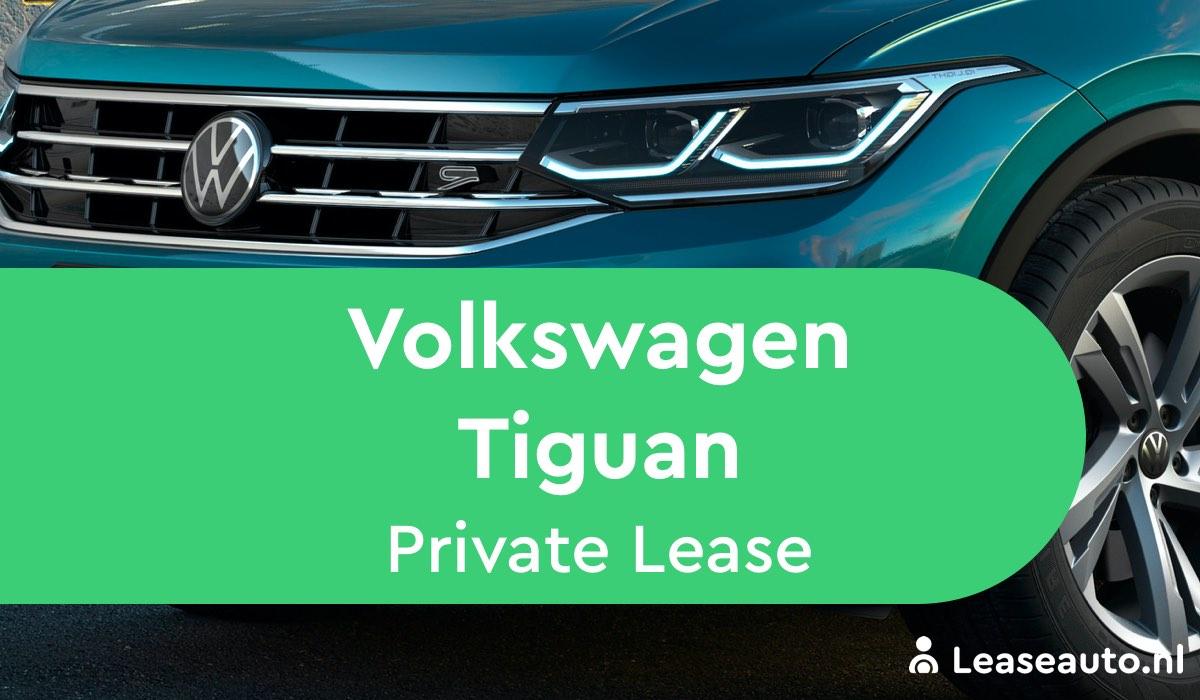 Volkswagen Tiguan Private Lease