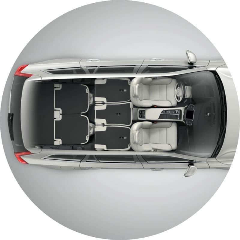 Volvo XC90 Praktisch