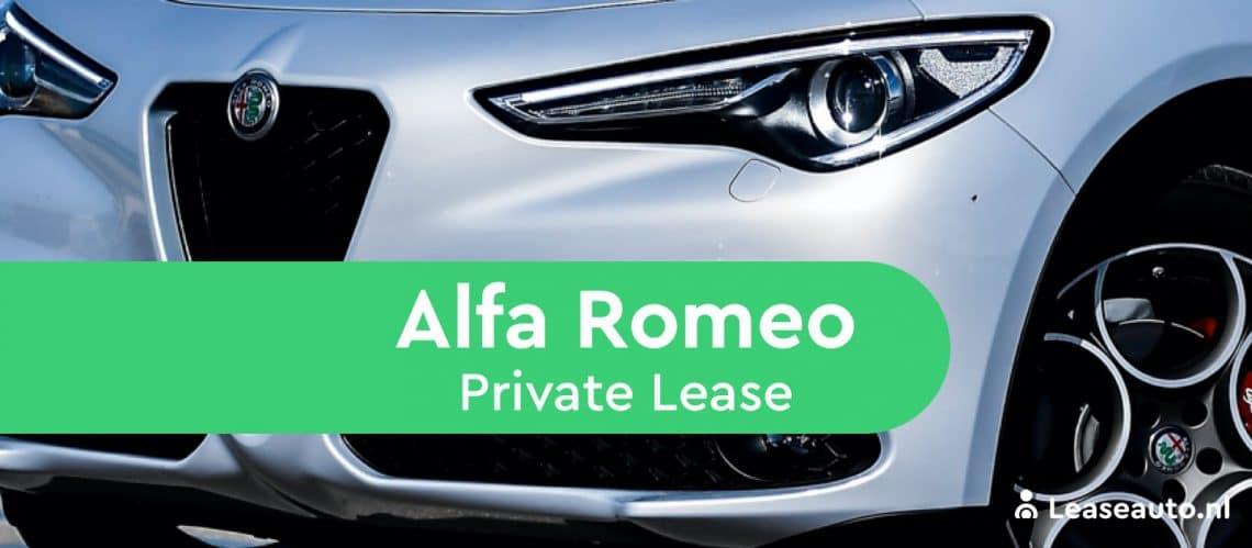 alfa romeo private lease
