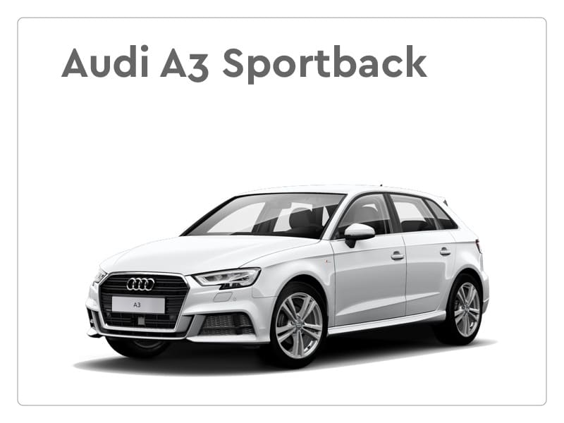audi a3 sportback private lease