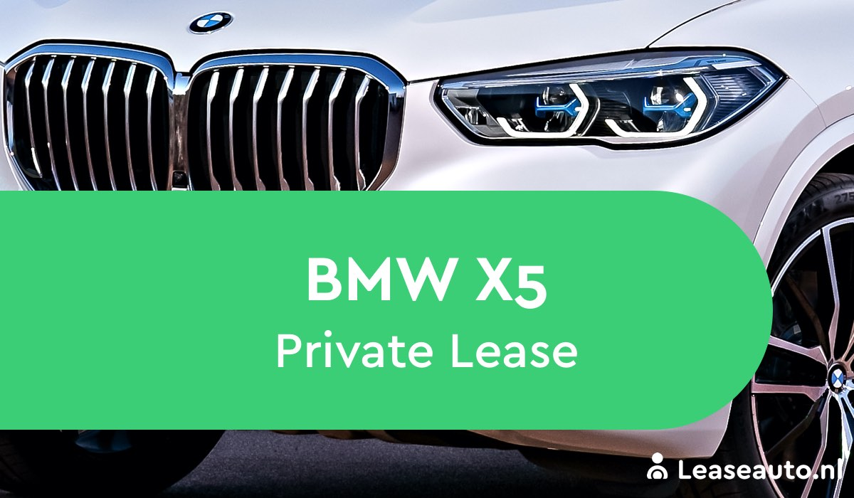 BMW X5 Private Lease