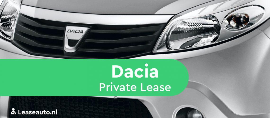 dacia private lease