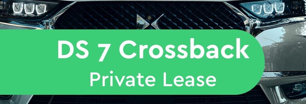ds 7 crossback Private Lease