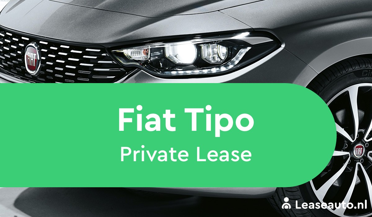fiat tipo private lease